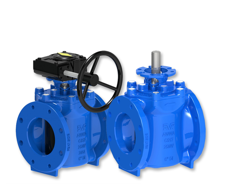 Plug valves for Water distribution