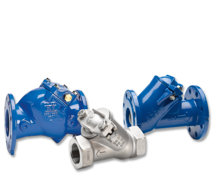 AVK check valves for wastewater