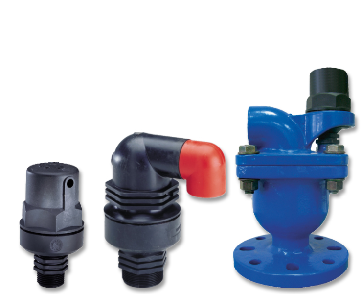 Read about the air valves for water