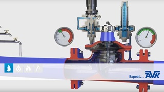 Video animation showing the features of control valves